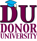 Donor University logo