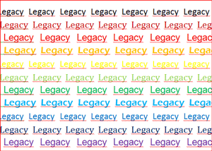 Your Multiple Legacies